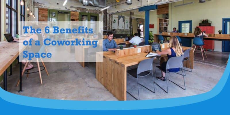 benefits coworking space english